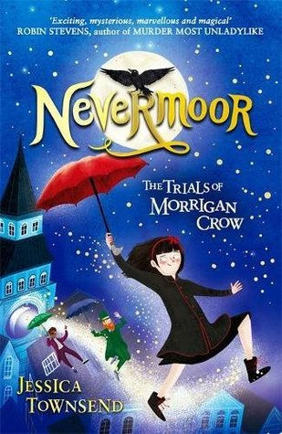 Cover art for Nevermoor the trials of Morrigan crow