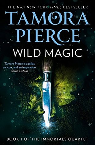 Black cover variation of Wild Magic by Tamora Pierce