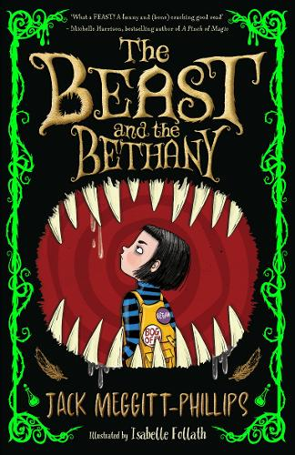 The book cover of The Beast and the Bethany.
